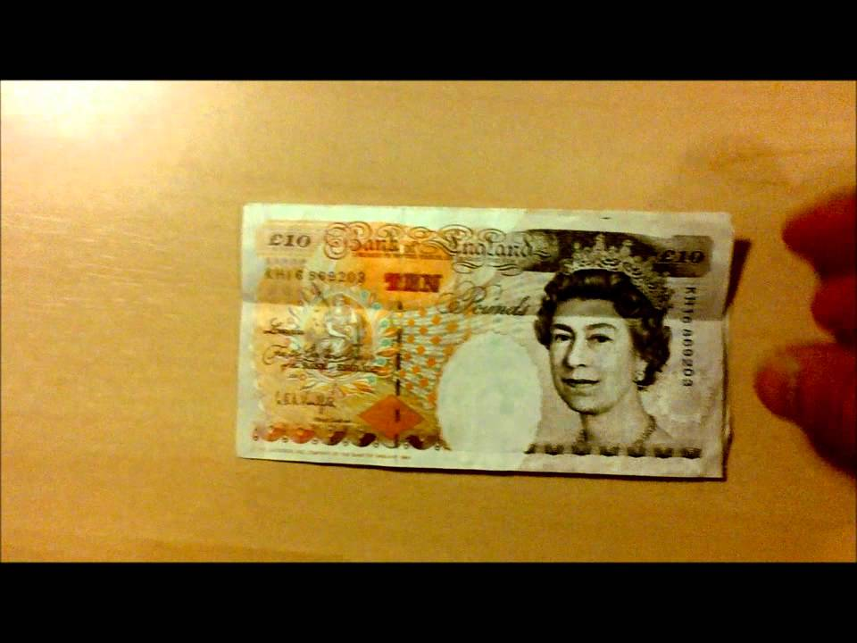A day in the life of a five pound note! | Anchorsholme Academy | 720x960