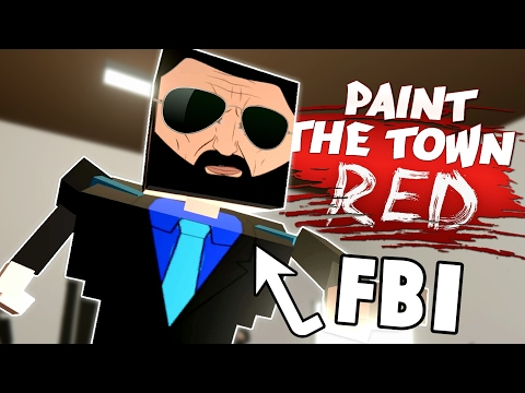 INTERROGATED BY THE FBI! - Basketball Arena & More Workshop Creations - Paint The Town Red
