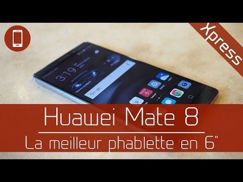 """Test : Huawei Mate 8 - Celle qui peut vous faire passer au 6"""""""