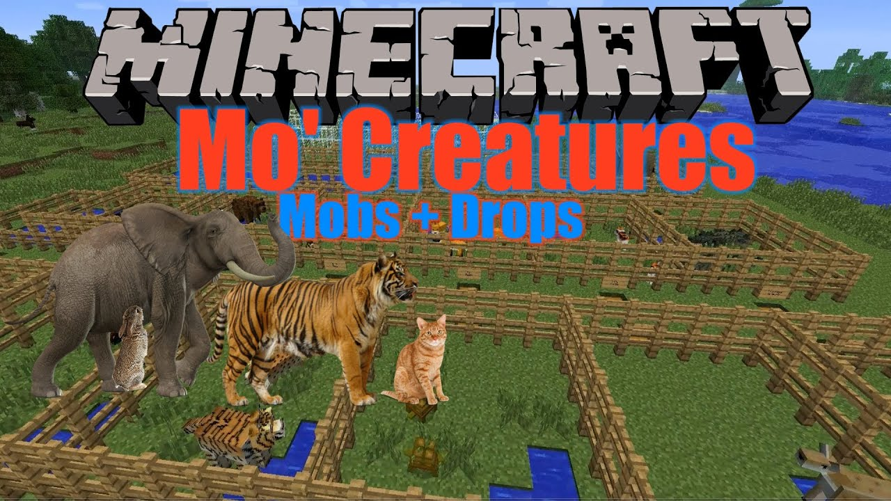 Zoo Crafting Minecraft Mod