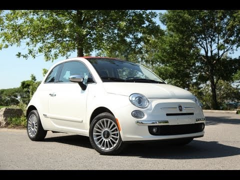 2012 Fiat 500C   More for the runway than the freeway