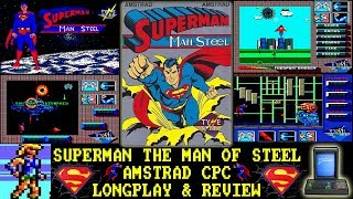 [AMSTRAD CPC] Superman The Man Of Steel - Longplay & Review