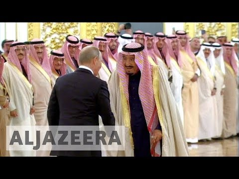 Saudi king says consensus with Russia on broadening relations