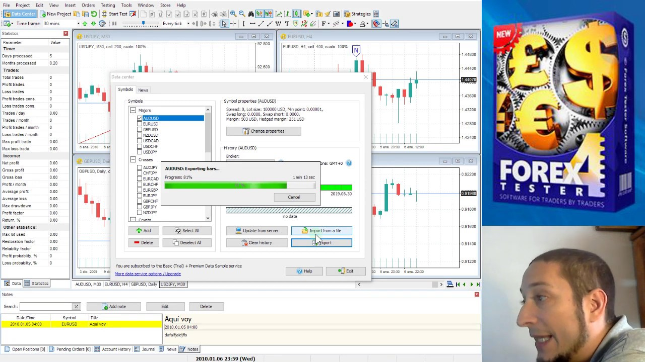 Forex Tester 2 Crack – The biggest and best software for FREE!