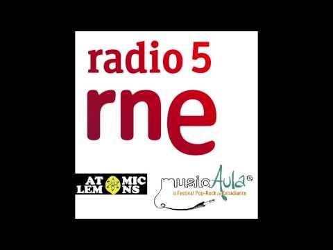 Entrevisa en Radio 5 de RTVE Jaén - Atomic Lemons (ganador MusicAula 2015)