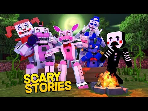 Minecraft Fnaf: Halloween Special - Spooky Ghost Stories (Minecraft Roleplay)