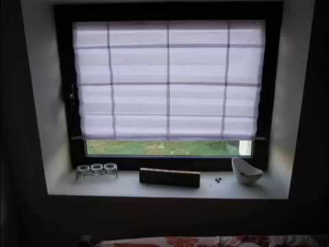 20 Pence Paper Window Blinds From A4 Paper Youtube