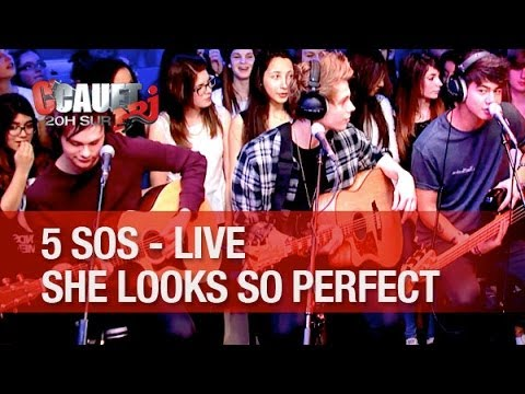 5 Seconds Of Summer - She Looks So Perfect - Live  - C'Cauet sur NRJ
