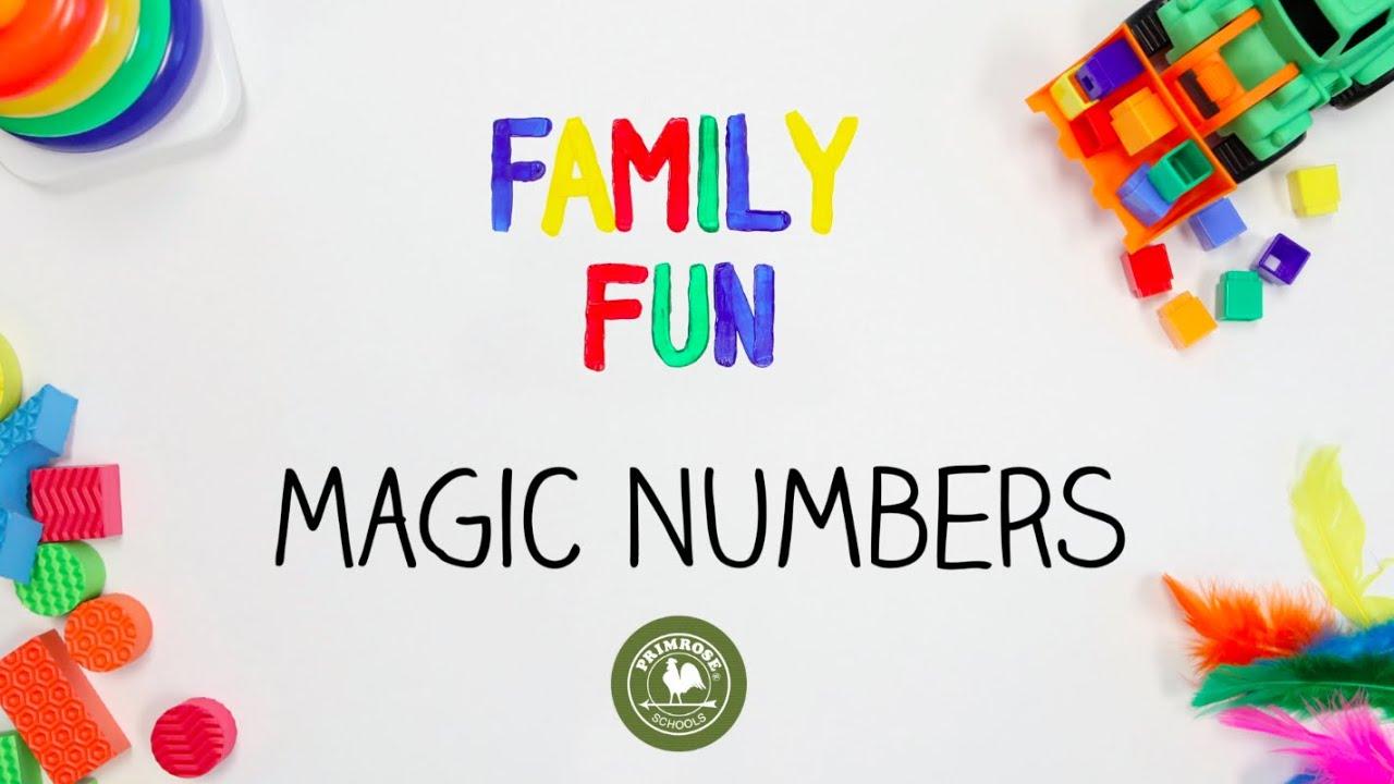 Family Fun Magic Numbers