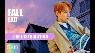 EXO - FALL (Line Distribution)