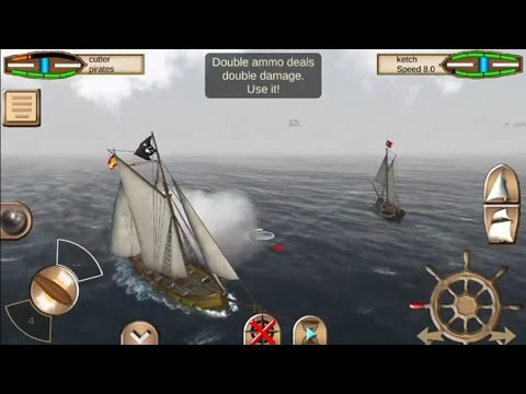 The Pirate: Caribbean Hunt (by Home Net Games) – action game for android – gameplay.