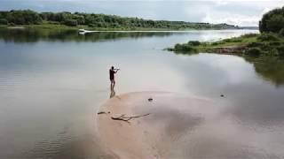 Рыбалка на Оке у Серпухова 23.08.13 1-я часть