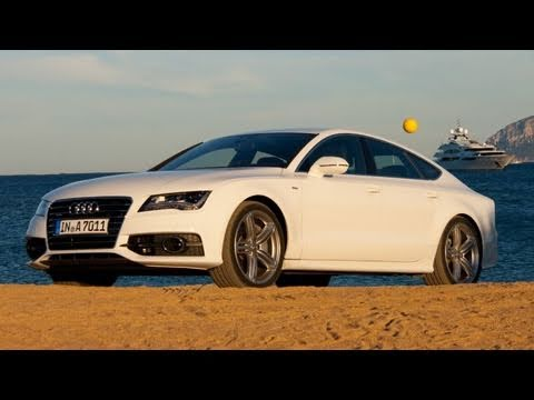 audi a7 sportback review youtube. Black Bedroom Furniture Sets. Home Design Ideas