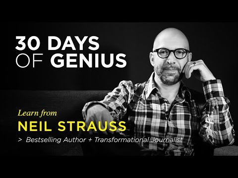 Neil Strauss on CreativeLive | Chase Jarvis LIVE | ChaseJarvis