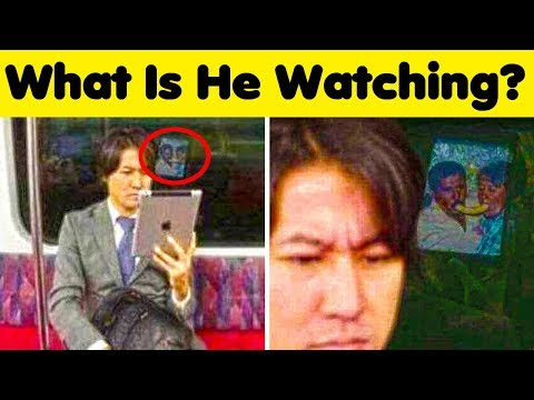 Weird Things People Did In Public