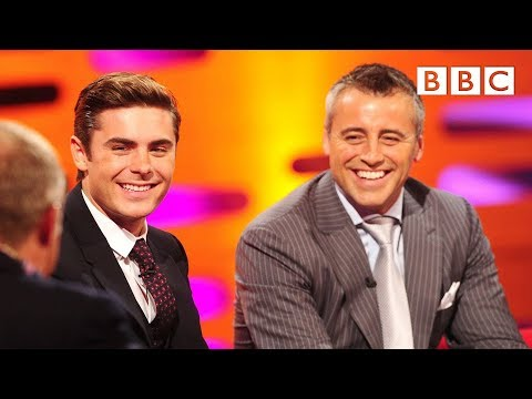 Zac Efron And Matt Le Blanc On Being Recognised By Fans | The Graham Norton Show - BBC