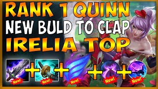 NEW BUILD TO BEAT IRELIA TOP IN SEASON 10 (BEST RUNE SYNERGY FOR THE MATCHUP) - League of Legends
