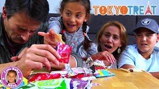 JAPANISCHE SÜßIGKEITEN BOX TOKYO TREAT | Trying  Japanese Candy taste | CuteBabyMiley