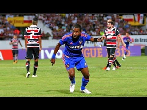 Brasileiro_ Gol de Santa Cruz 0 x 1 Sport 01/06/2016
