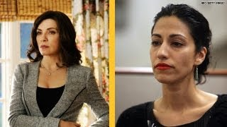 'The Good Wife' vs. Anthony Weiner's Wife