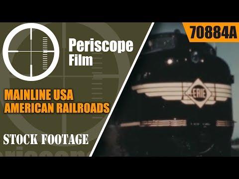 MAINLINE USA   ASSOCIATION OF AMERICAN RAILROADS  1940s HISTORY OF TRAIN TRAVEL  70884a