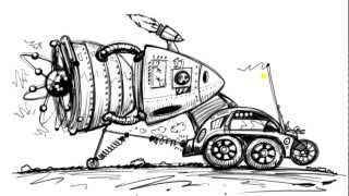Draw Cartoon Cars of the Future - Things to Draw When You