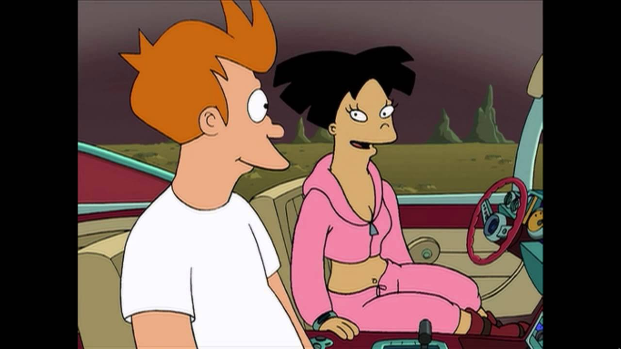When You Really Hit It Off Stuff And Junk Futurama Fry Amy Youtube
