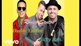 Romeo Santos - Bella Y Sensual // Daddy Yankee & Nicky Jam (Letra )