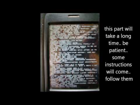 Running Android on HTC Pharos.wmv