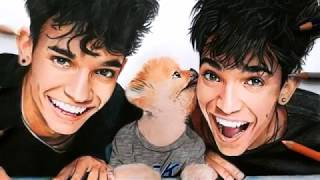 Drawing - Lucas And Marcus ( Dobre Brothers )