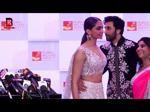 Deepika Padukone & Ranbir Kapoor At Red Carpet Of 9th The Walk Of Mijwan