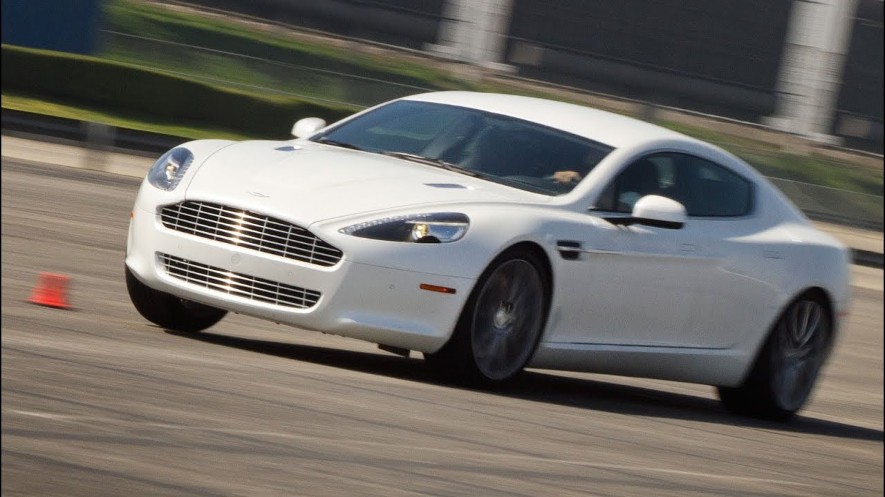 2011 Aston Martin Rapide Track Video