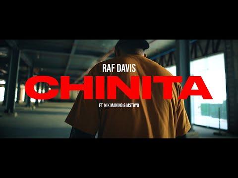 Raf Davis - CHINITA ft. Nik Makino & M$TRYO (Official Music Video)