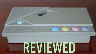 Atari 8-Bit XE Game System XEGS Review, Teardown, Repair and SIDE2 Compact Flash Hard Disk Upgrade!
