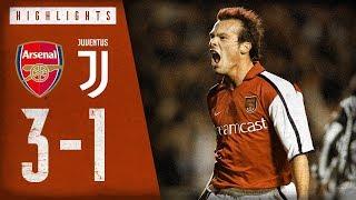 That assist from Bergkamp 🤩   Arsenal 3-1 Juventus   Arsenal Classics   Dec 4, 2001