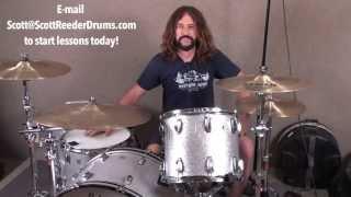 Online drum lessons by SCOTT REEDER (Fu Manchu, Social Distortion)