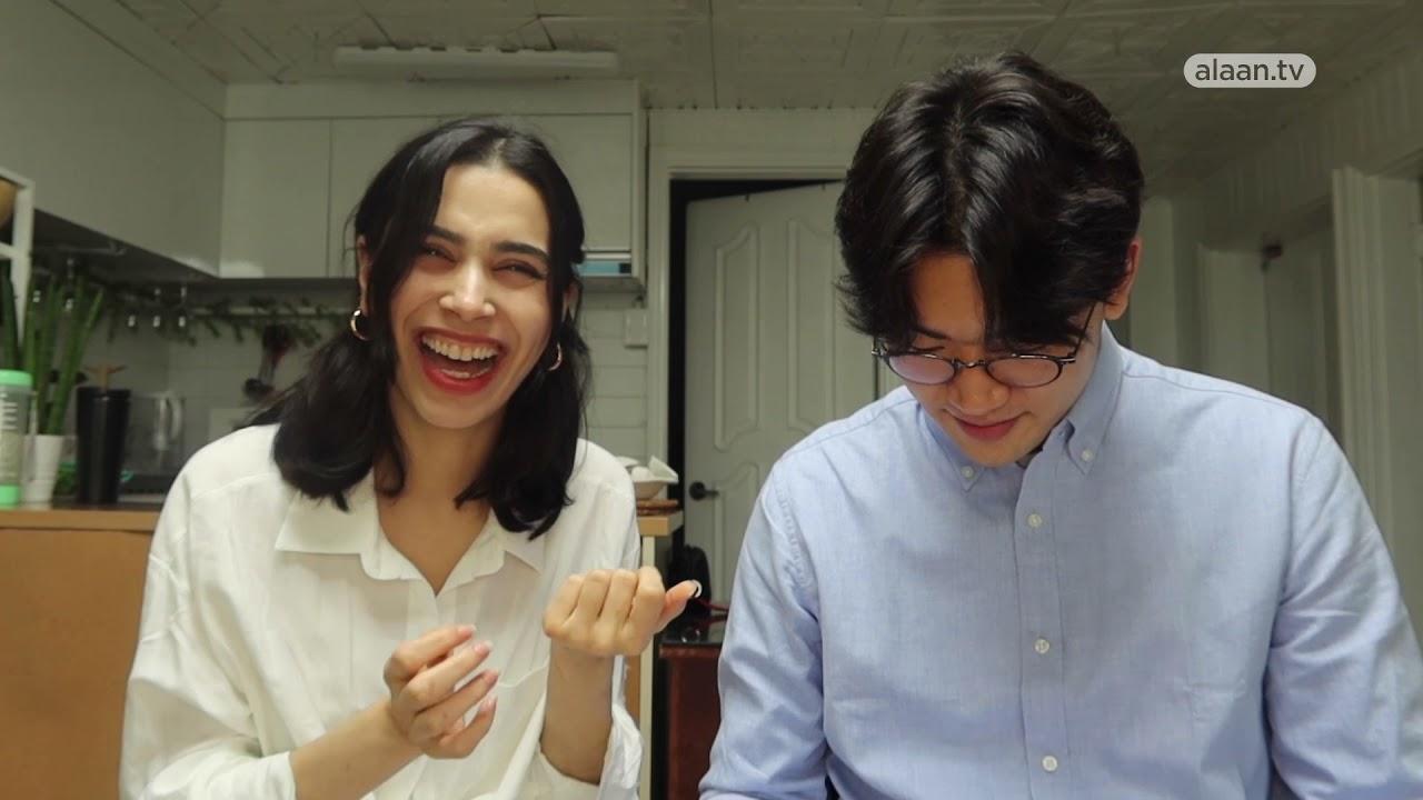 مقتطفـات | عرب في كوريا - لينا تعلم صديقها الكوري اللغة  - 13:01-2021 / 4 / 21