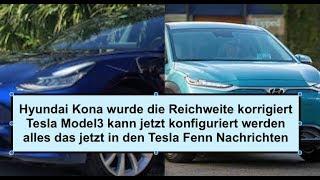 Die Reichweite vom Hyundai Kona wurde korrigiert