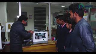 3D Material Manufacturing in Fabrication Industry.