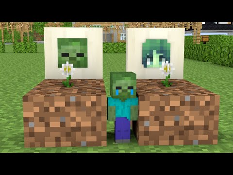Monster School : Poor but Kind Baby Zombie - Minecraft Animation |