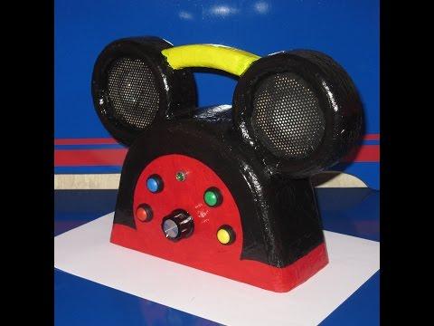 Disney style MP3 Player