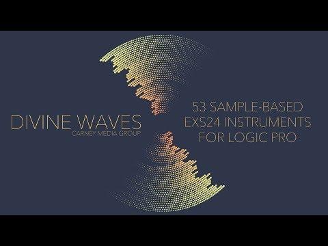 DIVINE WAVES Overview | 53 Sample-Based EXS24 Instruments for Logic Pro X