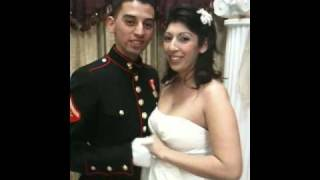 Marine and Army, Joint Armed Forces Wedding at the Edgewater Chapel in Long Beach
