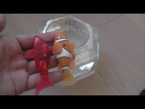 Hexbug Aquabot Vs Robo Fish