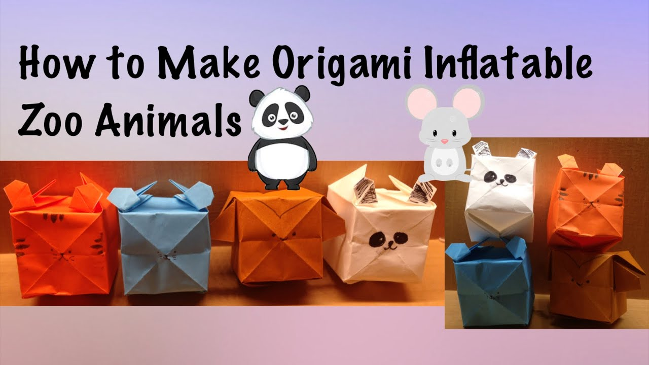 40 Tutorials on How to Origami a Zoo   720x1280