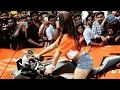 ktm bike stunts | KTM Stunts at KMC [Kakatiya medical college ground] | HD