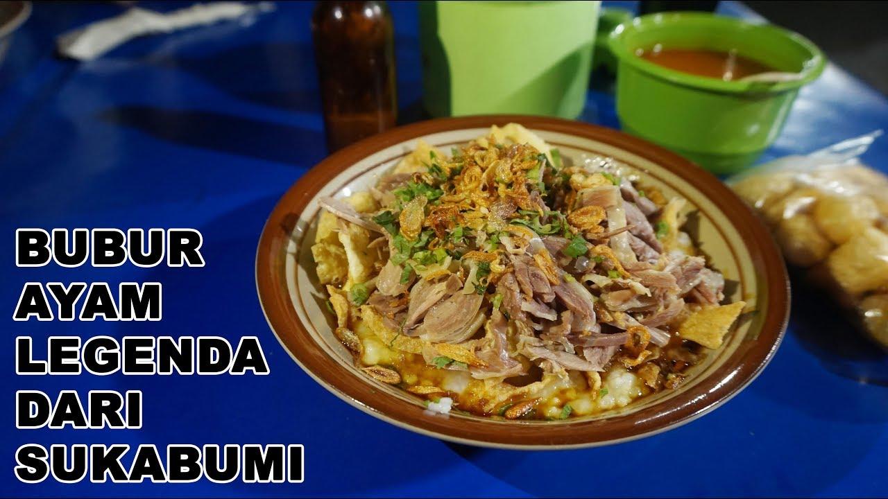 Kuliner Jakarta Timur Bubur Legendaris Dari Sukabumi Youtube