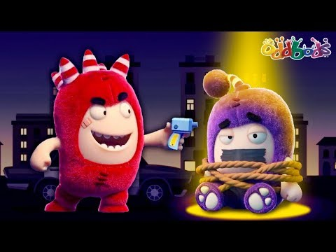 Oddbods | NEW | CRIME PATROL | Funny Cartoons For Kids