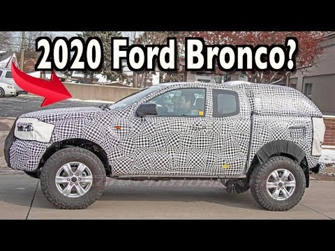 Spyed:  Ford Bronco?