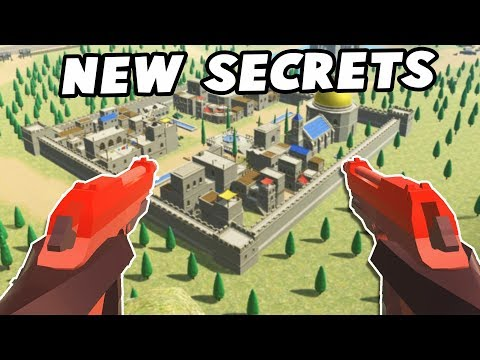NEW Secret Weapons!  Akimbo & SUPER AA-AA!  (Ravenfield Beta Gameplay New Update Secrets)